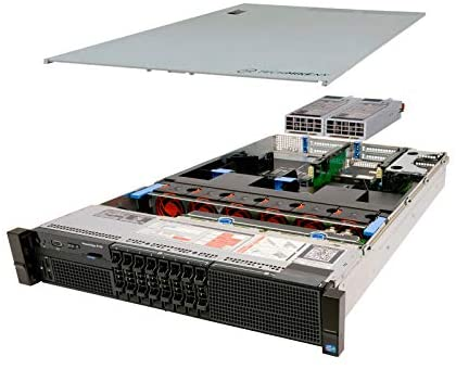 TechMikeNY Server E5-2650L 1.80Ghz 8-Core 16GB H310 Energy-Efficient PowerEdge R720 (Renewed)