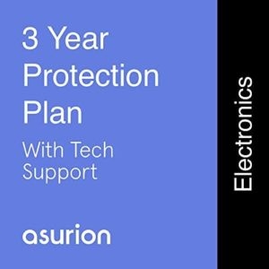 ASURION 3 Year Electronics Protection Plan with Tech Support $175-199.99