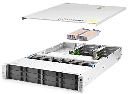 TechMikeNY Server 2X E5-2603v3 1.60Ghz 12-Core 32GB 12x 3TB P440ar ProLiant DL380 G9 (Renewed)