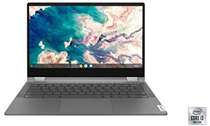 Lenovo Chromebook Flex 5 13″ Laptop, FHD (1920 x 1080) Touch Display, Intel Core i3-10110U Processor, 4GB DDR4 OnBoard RAM, 64GB SSD, Intel Integrated Graphics, Chrome OS, 82B80006UX, Graphite Grey