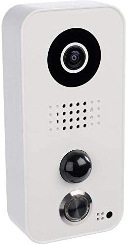 DoorBird Video Door Station D101,  Polycarbonate Housing, White Edition, POE WiFi