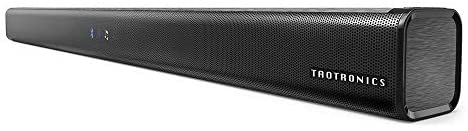 Soundbar, TaoTronics Three Equalizer Mode Audio Speaker for TV, 32-Inch Wired & Wireless Bluetooth 5.0 Stereo Soundbar, Optical/Aux/RCA Connection, Wall Mountable, Remote Control