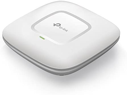TP-Link AC1750 Wireless Wi-Fi Access Point (Supports 802.3AT PoE+, Dual Band, 802.11AC, Ceiling Mount, 3×3 MIMO Technology) (EAP245) (Renewed)
