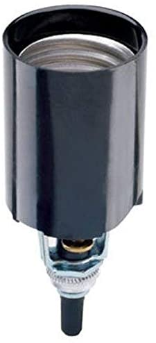 Legrand – Pass & Seymour 4155CC10 Turn Knob Candle Socket Easy Turning Knob Socket