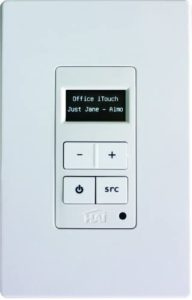 Leviton 95A03-1 Hi-Fi 2 Volume-Source Control, White
