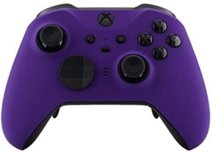 Soft Touch Purple Custom Modded Controller Compatible with Xbox One Elite Series 2 for All Shooter Games MW BO4