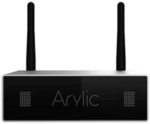 WiFi & Bluetooth STA326 WIith 50+50W 24V DC/2.0 Stereo Channel,Airplay DLNA,Multiroom Sync, 24bit 192 kHz HiFi Audio Streaming Integrated Amp for Home Speakers-Arylic A50