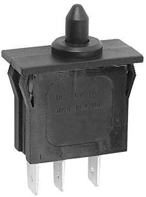 Plunger Type Accelerator Foot Switch for Peg Perego John Deere Gator XUV Gaucho Rockin Polaris RZR 900, Children Ride On Car Replacecment Switch Parts