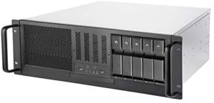 SilverStone Technology RM41-H08 4U Rackmount Server Case with 5 x 3.5 Hot-Swappable Bay and 3 x 5.25 Bays with USB 3.1 Gen 1 (SST-RM41-H08)