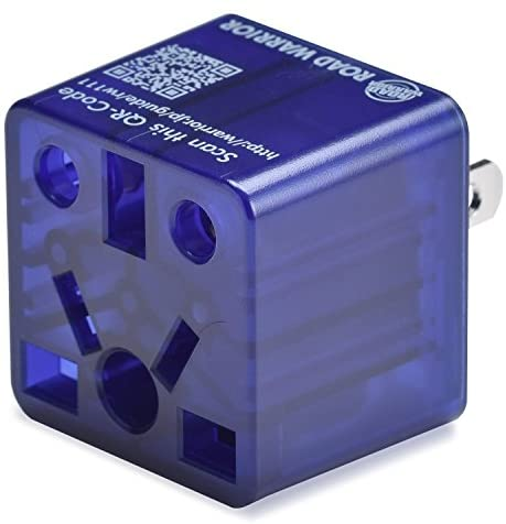 ROAD WARRIOR US Travel Plug Adapter EU/UK/CN/AU/IN to USA (Type A)