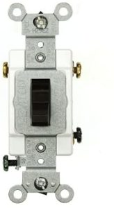 Leviton CSB3-20, Brown