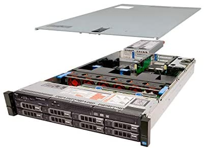 High-End Dell PowerEdge R720 Server 2 x 2.60Ghz E5-2670 8C 192GB 8 x 2TB (Renewed)