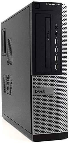 Dell Optiplex 790 DT High Performance Premium Business Desktop Computer (Intel Quad-Core i5-2400 up to 3.4GHz, 8GB DDR3 RAM, 2TB HDD, DVDROM, WiFi, Windows 10 Pro) (Renewed)