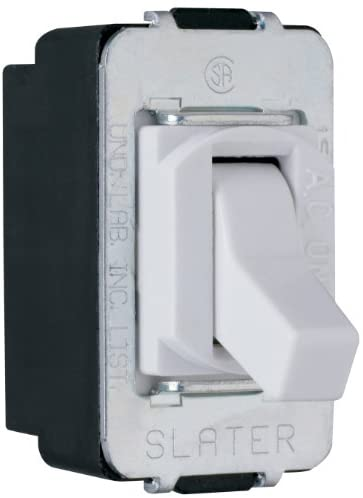 Legrand – Pass & Seymour ACD3WCC8 15-Amp 120-volt/277-volt Three Way Depart Switch, White