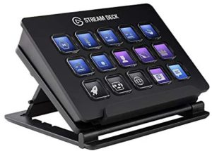 Elgato Stream Deck – Live Content Creation Controller with 15 Customizable LCD Keys, Adjustable Stand, for Windows 10 and macOS 10.13 or late