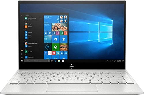 2020 HP Envy 13.3″ 4K Ultra HD Touch-Screen Laptop 10th Gen Intel i7-1065G7 8GB DDR4 Memory 512GB SSD WiFi 6 Bluetooth 5.0 Weigh 2.6 lbs. Natural Silver