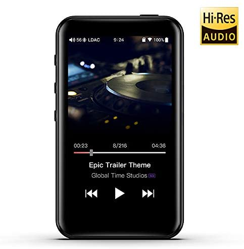 FiiO M6 High Resolution Lossless MP3 Music Player with HiFi Bluetooth aptX HD/LDAC, USB Audio/DAC,DSD/Tidal/Spotify Support and WiFi/Air Play Full Touch Screen