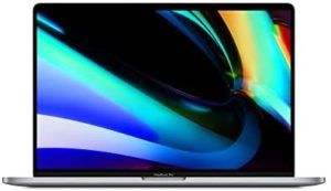 New Apple MacBook Pro (16-inch, 16GB RAM, 512GB Storage, 2.6GHz Intel Core i7) – Space Gray
