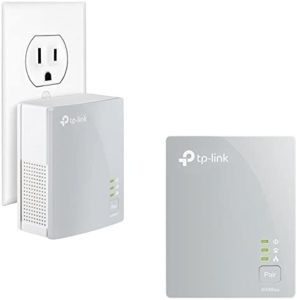 TP-Link AV600 Powerline Ethernet Adapter – Plug&Play, Power Saving, Nano Powerline Adapter, Expand Home Network with Stable Connections (TL-PA4010 KIT)