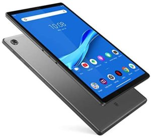 Lenovo Tab M10 Plus Tablet, 10.3″ FHD Android Tablet, Octa-Core Processor, 128GB Storage, 4GB RAM, Dual Speakers, Kid Mode, Face Unlock, Android 9 Pie, ZA5T0300US, Iron Grey
