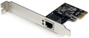 StarTech 1 Port PCI-Express Gigabit Network Server Adapter with Realtek Chip NIC Card – Dual Profile (ST1000SPEX2)