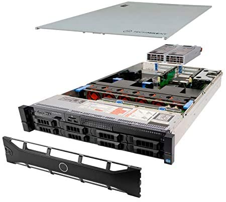 TechMikeNY Server 2X E5-2660 2.20Ghz 16-Core 128GB 2X 1TB 6X 2TB H710 PowerEdge R720 (Renewed)