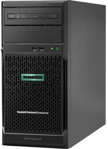 HPE ProLiant ML30 G10 4U Tower Server – 1 x Intel Xeon E-2124 Quad-core 4 Core 3.30 GHz – 8 GB Installed DDR4 SDRAM – Serial ATA/600 Controller – 1 x 350 W