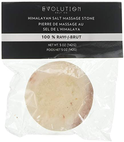 Evolution Salt – Round Flat Crystal Salt Stone 5 oz