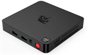 Beelink T4 Mini Pc Intel Atom x5-Z8500 4G DDR4/64G EMMC 4 Processor Desktop Computer Up to 2.24GHz with BT-4.0,Ethernet,2.4G/5G Wi-Fi,4K Video,Support HDMI/DP Dual Display Output