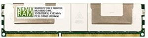 HP 647903-B21 32GB DDR3 1333 (PC3 10600) LRDIMM Memory for HP ProLiant DL360p Gen8 Server