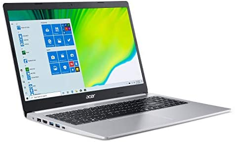 Acer Aspire 5 A515-44-R41B, 15.6″ Full HD, AMD Ryzen 5 4500U Hexa-Core Mobile Processor with Radeon Graphics, 8GB DDR4, 256GB NVMe SSD, WiFi 5, HD Webcam, Backlit Keyboard, Windows 10 Home