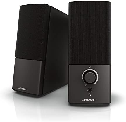 Bose Companion 2 Series III Multimedia Speakers – for PC (with 3.5mm AUX & PC Input)