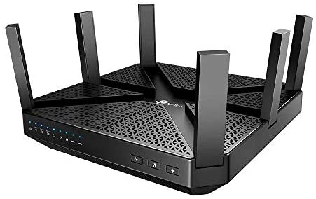 TP-Link AC4000 Smart WiFi Router – Tri Band Router, MU-MIMO, VPN Server, Advanced Security by HomeCare, 1.8GHz CPU, Gigabit, Beamforming, Link Aggregation, Works with Alexa(Archer A20)