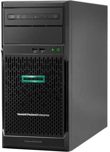 Hpe ProLiant ML30 G10 4U Tower Server 1 x Xeon E-2124 16GB RAM HDD SSD Serial ATA/600 Controller Model P06785-S01