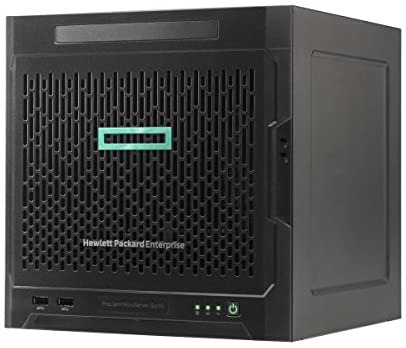 HPE 870208-001 ProLiant MicroServer Gen10 Entry – Server – Ultra Micro Tower – 8 GB RAM – 1 TB HDD – Black
