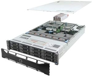 TechMikeNY Server E5-2620v2 2.10Ghz 12-Core 64GB H710 PowerEdge R720xd (Renewed)