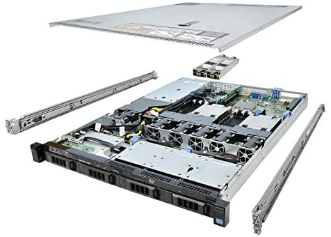 TechMikeNY Server E5-2430v2 2.50Ghz 6-Core 16GB 2X 300GB 15K H310 Rails PowerEdge R420 (Renewed)
