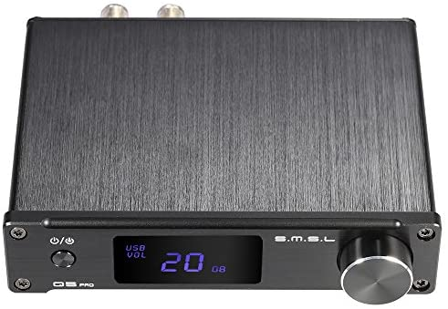 ammoon S.M.S.L Q5 pro Mini Portable HiFi Digital 3.5mm AUX Analog/ USB/ Coaxial/ Optical Stereo Audio Power Amplifier Amp with Remote Controller