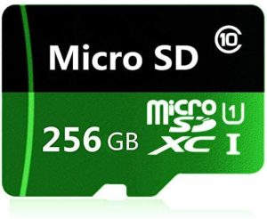 256GB Micro SD Card High Speed Micro SD SDXC Card Class 10 Memory Card with Adapter (256GB)