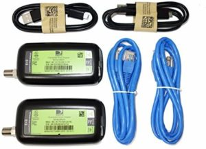 2 Pack – DIRECTV Broadband Deca Ethernet to Coax Adapter – Third Generation (with 2 USB Power Cables)