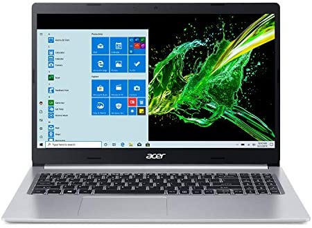 Acer Aspire 5 A515-55G-57H8, 15.6″ Full HD IPS Display, 10th Gen Intel Core i5-1035G1, NVIDIA GeForce MX350, 8GB DDR4, 512GB NVMe SSD, WiFi 6, HD Webcam, Backlit Keyboard, Windows 10 Home