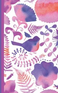 Journal and Organizer: Password manager book with alphabet tabs and discreet romantic watercolor design (5″x8″) – a great gift for for teenage girls, best friends, mothers or grandmothers