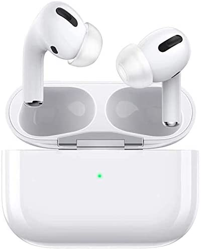 Wireless Earbuds Bluetooth 5.0 Headphones CVC8.0 Noise Canceling Bluetooth Headphones HiFi Stereo in-Ear Headset with Fast Charging Case for iPhone Android Apple Earbud Airpods pro