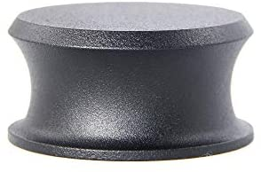 Record Weight Stabilizer with Protective Leather Pad – Vinyl Turntable Weight – Durable & Stylish LP Stabilizer – Fits on Any Turntable (BigBen, Black)