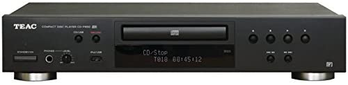 TEAC CD-P650 Home Audio CD Player with USB and iPod Digital Interface – Black