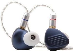 Linsoul Shuoer H27 1DD+2BA Triple Driver HiFi in-Ear Earphone with Detachable MMCX Cable for Audiophile Musicians