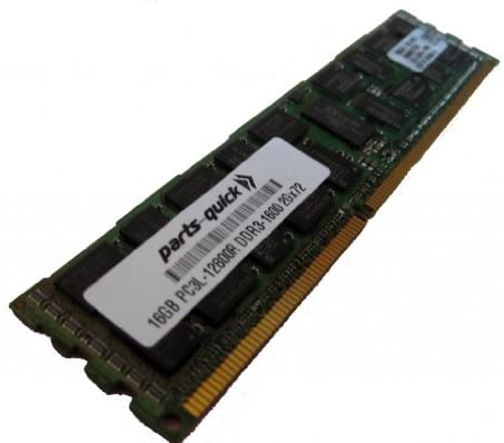 16GB DDR3 Memory Upgrade for HP ProLiant DL380 G7 Server PC3L-12800 1600MHz ECC Registered Low Voltage DIMM (PARTS-QUICK Brand)