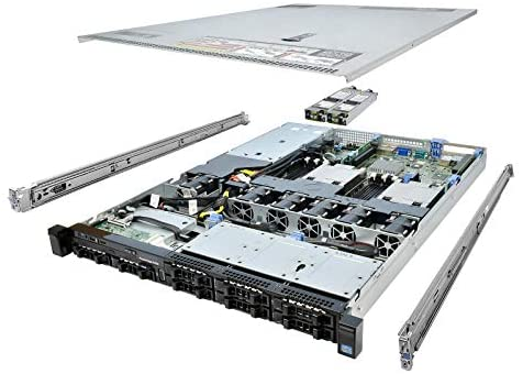 TechMikeNY Server 2X E5-2440 2.40Ghz 12-Core 32GB H310 Rails PowerEdge R420 (Renewed)