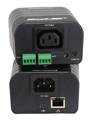 iBoot-G2+ Expandable Network Power Switch – Plus Version, 10/100 Ethernet Network Attached, IP addressed, Web/Cloud Controlled Power Switch