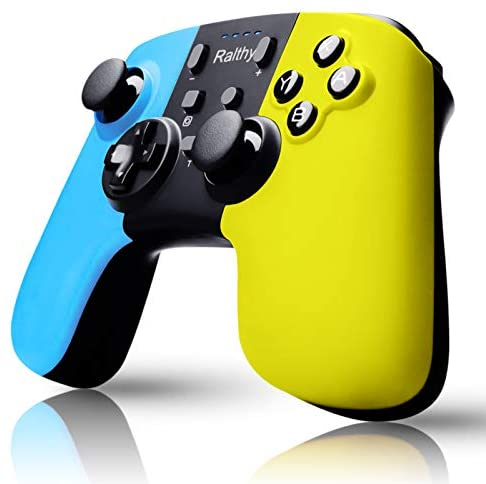 Wireless Pro Controller for Nintendo Switch – Switch Pro Controller Remote Gamepad Joystick for Nintendo Switch Console, Supports Gyro Axis, Turbo and Dual Vibration